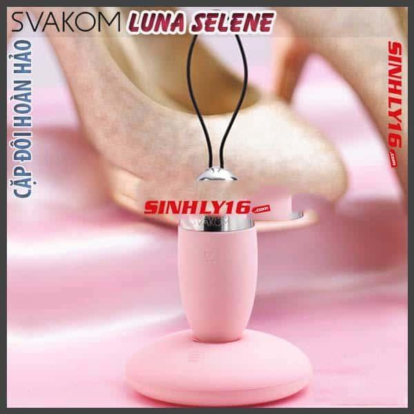 Đồ chơi thủ dâm điều khiển từ xa Svakom Luna Selene