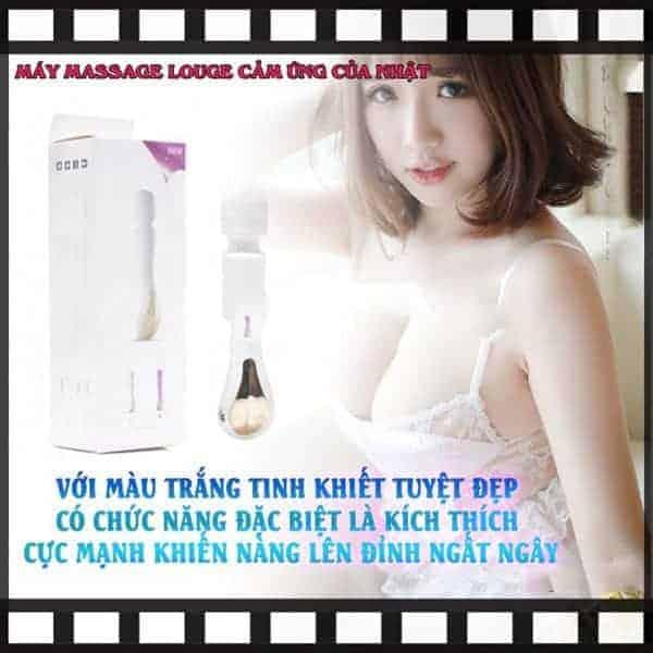 Màu sắc máy Máy massage louge trắng tinh khuyết tuyệt đẹp