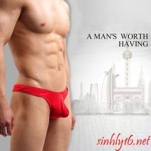 Quần lót Sexy nam màu đỏ