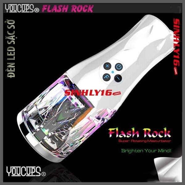 Âm đạo tự động bú mút Youcups Flash Rock