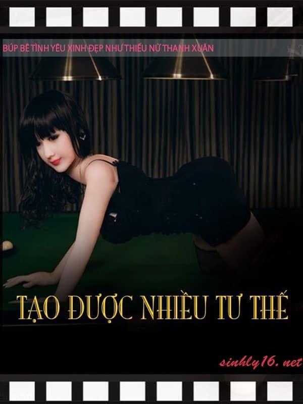 Búp bê tình dục silicon Thanh Xuân