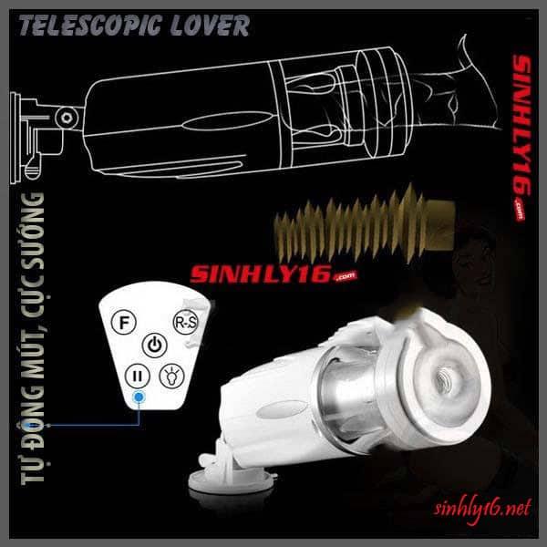 Telescopic Lover tự động bú mút cực sung sướng