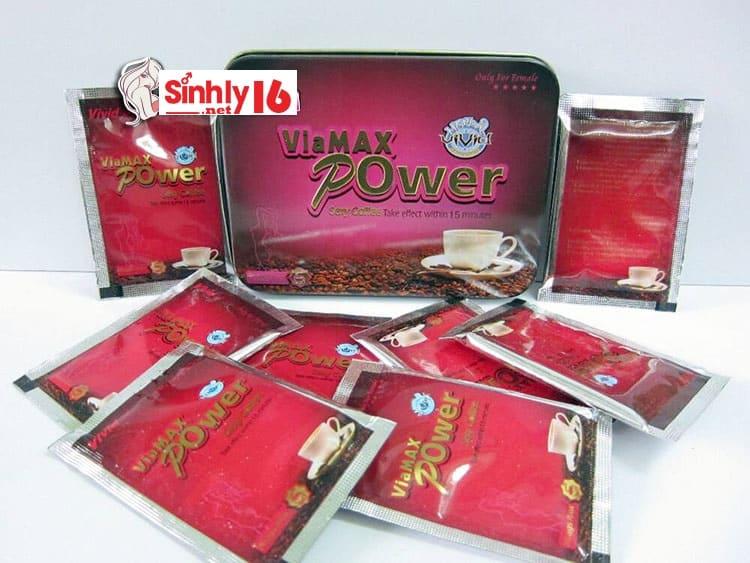 Cà phê ViaMax Power kích thích ham muốn cho nữ giới SL04